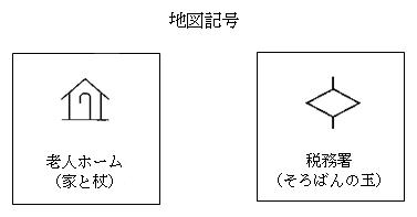 税務署の地図記号